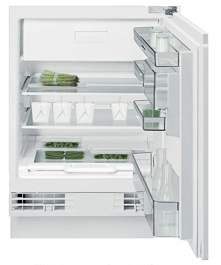 Mini Modern Kitchen Miele Gaggenau: Fridge Freezer Combination RT 200