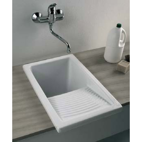 Small Laundry Tubs Sinks : Small+Utility+Sink Washington Small Laundry Ceramic Sink